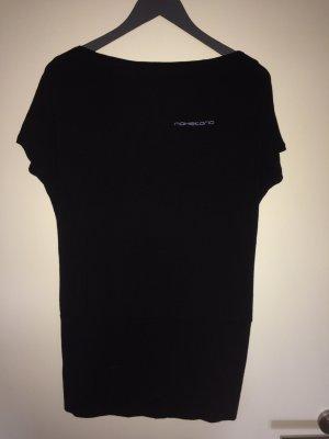 schwarzes Longshirt von Naketano