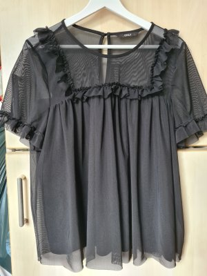 Only Frill Top black