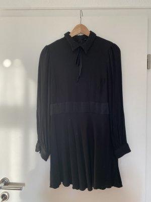 Schwarzes Mini Kleid babydoll dress zara Gr. L