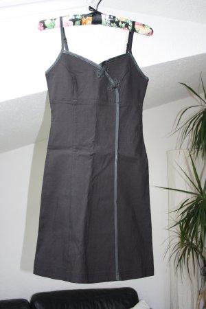 Schwarzes Minikleid asiatischer Stil XS/S