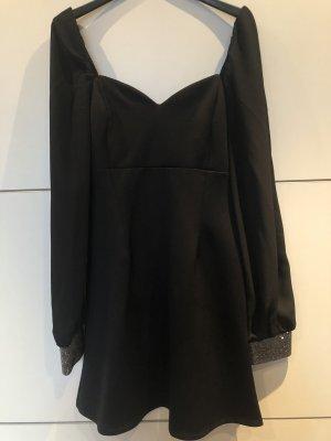 Schwarzes Minikleid asos