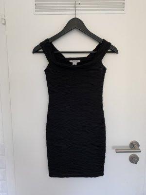 Schwarzes Minikleid (Schulterfrei)