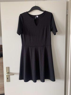 H&M Sukienka mini czarny