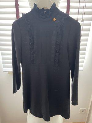 Schwarzes Minikleid von italinischem Designerlabel
