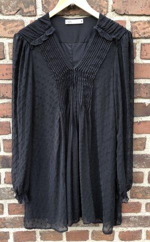 Schwarzes Minikleid Zara XXL