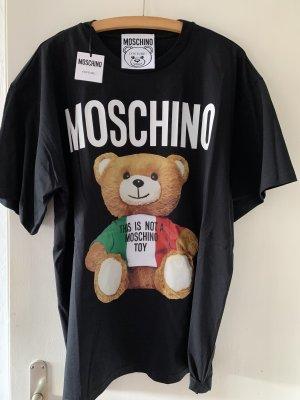 Schwarzes Moschino Couture TShirt