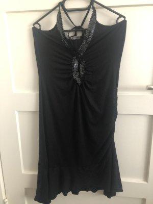 Melrose Halter Dress black