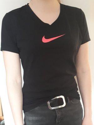 Schwarzes Nike Sport-Shirt