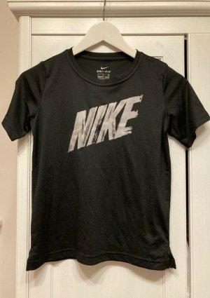 Schwarzes Nike Sport Shirt in Größe S