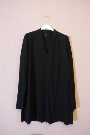 COS Tunique-blouse noir tissu mixte