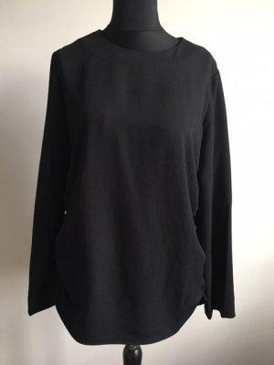 COS Lang shirt zwart Polyester