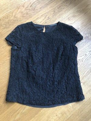 Esprit Camisa de malla negro
