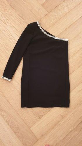 Schwarzes One-Shoulder-Kleid von Mango - Mit Etikett in XS