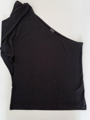 Schwarzes One-Shoulder Top Esprit, Größe M