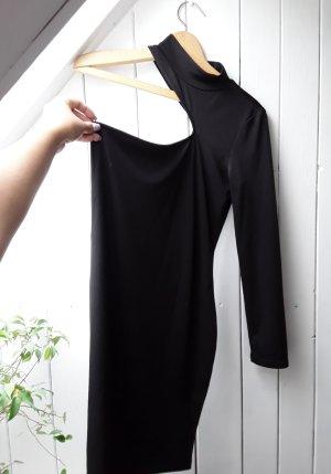CBR Vestido de un hombro negro