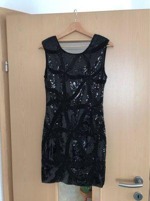 Schwarzes Paillettenkleid von Realty