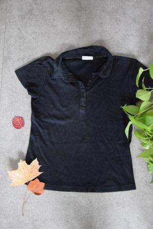 Street One Polo Shirt black cotton