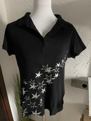 Arizona Camicia fantasia nero-argento Cotone