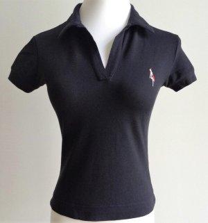 schwarzes Poloshirt von Roberto Collina/ Gr. XS/ Neu