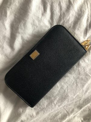Schwarzes Portemonnaie von Dolce & Gabbana