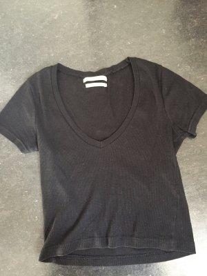 schwarzes pull&bear tshirt