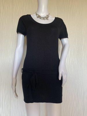 Schwarzes Pullover-Kleid Gr. S