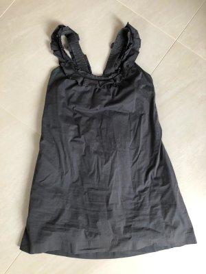 schwarzes Rüschchenkleid, Gr. S