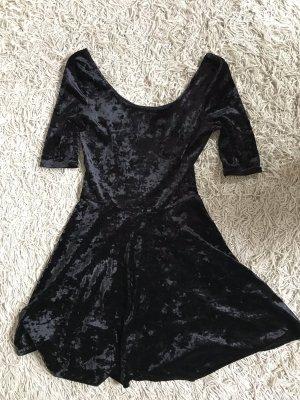 New Look Mini vestido negro Poliéster