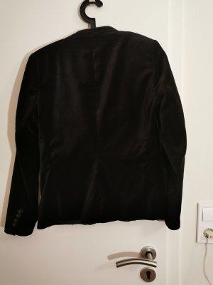 H&M Blazer de esmoquin negro
