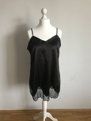 Negligee black viscose