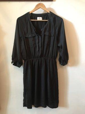 Replay Vestido tipo blusón negro