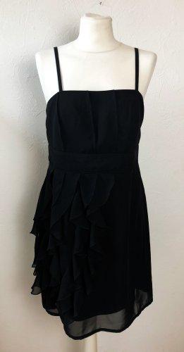 Schwarzes schickes Kleid von Bodyflirt in Gr. 40