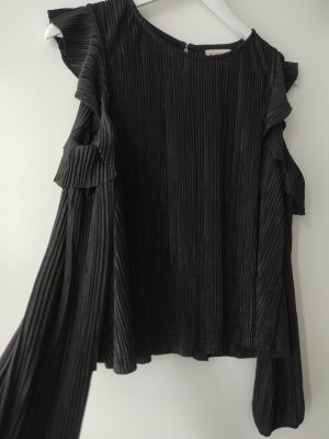 24Colours Long Sleeve Blouse black