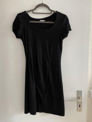Schwarzes schlichtes Kleid Gr.M/L