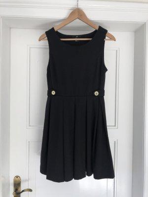 schwarzes schlichtes Kleid H&M Größe S