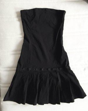 Zara Trafaluc Robe épaules nues noir