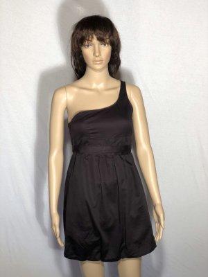 Bershka Balloon Dress black