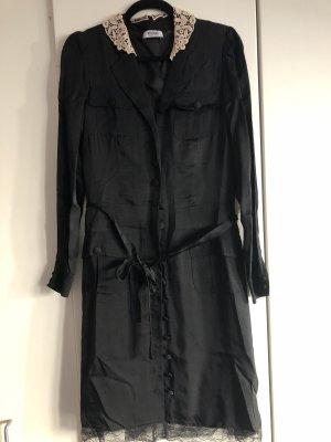 Schwarzes Seidenkleid von Moschino