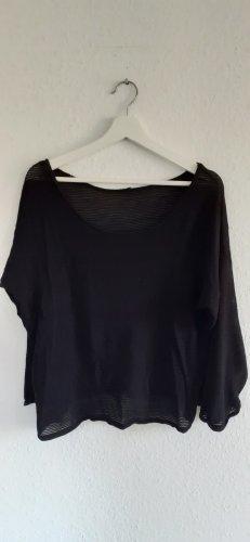 H&M Divided Gestreept shirt zwart