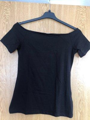 H&M Basic Top épaules dénudées noir