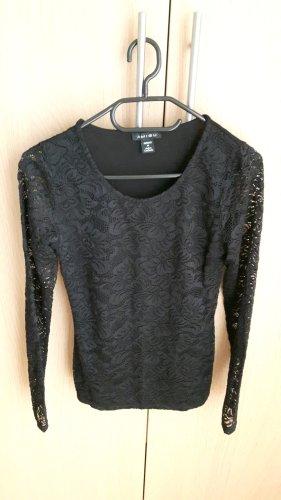 Schwarzes Shirt - Amisu - M