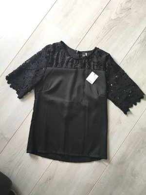 Choies Lace Top black