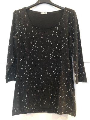 Schwarzes Shirt mit Sternen