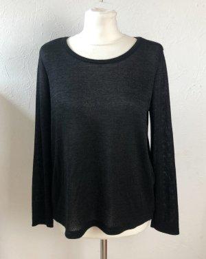 Schwarzes Shirt von C&A in Gr. S