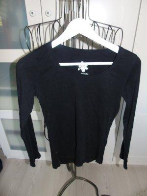Camaieu Crewneck Sweater black cotton