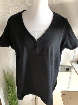 schwarzes Shirt von Canda / C&A - Gr. XL