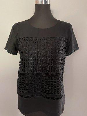Schwarzes Shirt von F&F, Gr. S