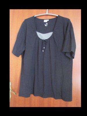 Schwarzes Shirt von Giada in Größe 54