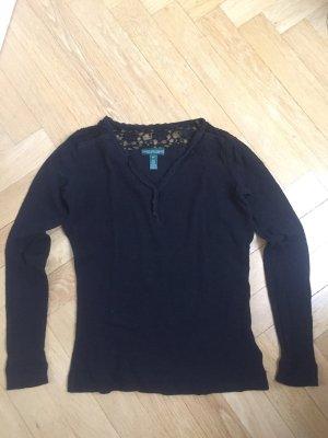 Schwarzes Shirt von Lauren by Ralph Lauren