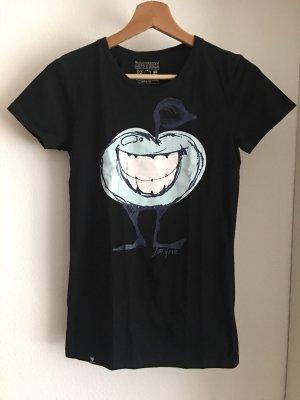 schwarzes shirt von zoo york